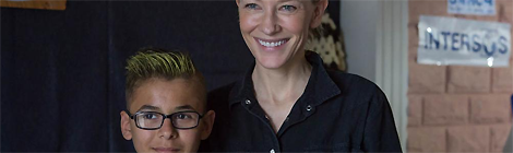 Cate Blanchett for refugees